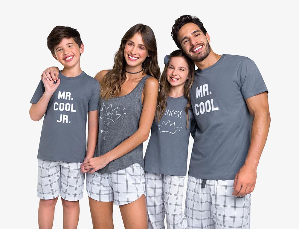 Pijamas para a família toda: tem por aqui!