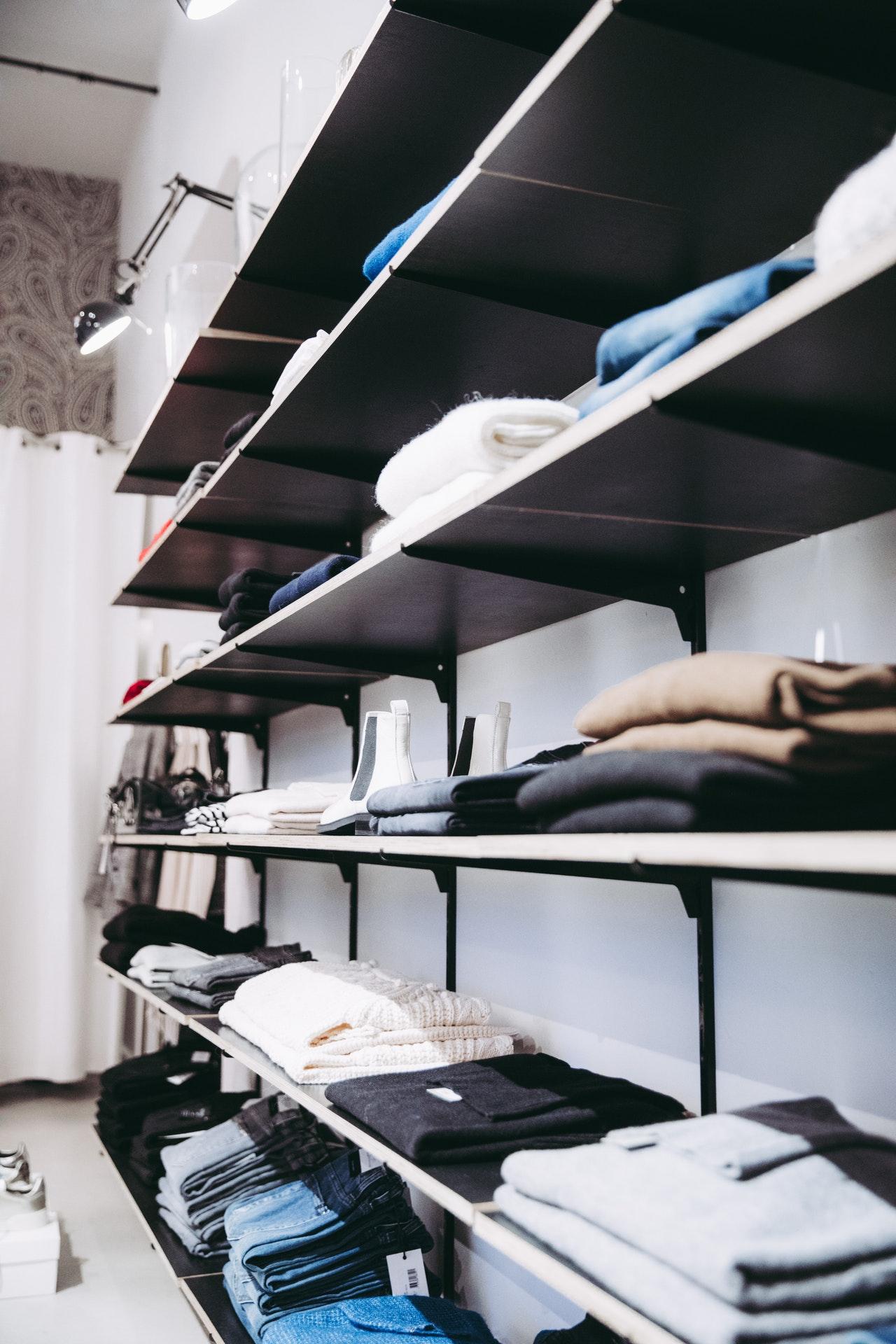 montar a sua loja de roupas